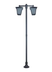 Salhiya Lighting Post Light, E27 Bulb Type, Glass Diffuser, 145123, Goldmine