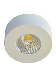 Euroluce Spotlight Frame, LED Bulb Type, 5W, LC1528-FW, Matt White