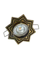 Salhiya Lighting Spotlight Frame, LED Bulb Type, Star Movable, AL3298GAB, Bronze