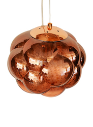 Salhiya Lighting Totchie Indoor Ceiling Pendant Light, E27 Bulb Type, Small, D3870, Rose Gold