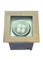 Salhiya Lighting Underground Light, G12 Bulb Type, Beam Adjustable, 70W, IP65, 7018SS, Black