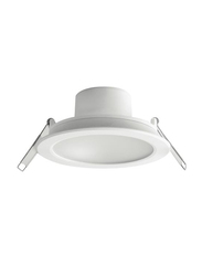 Megaman Sienalite Integrated Ceiling Downlight, LED Bulb Type, 12W, F55500RC/WH26, 6500K-Daylight