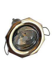 Salhiya Lighting Spotlight Frame, LED Bulb Type, Octagon Movable, 0456G/0722, Chrome
