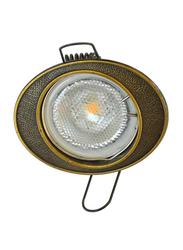 Salhiya Lighting Spotlight Frame, LED Bulb Type, Oval Fixed, R173, Cuero