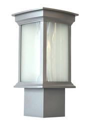 Salhiya Lighting Gate Top Light, LED Bulb Type, 1634, Light Grey