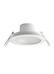 Megaman Ceiling Downlight, LED Bulb Type, 12W, F55500RC/WH26, 2800K-Warm White