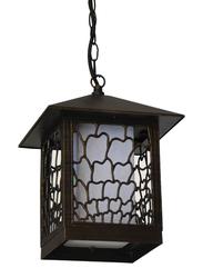 مركز اضواء الصالحية مصباح سقف للاستعمال للخارج, نوع E27, 8705A, ذهبي