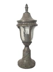Salhiya Lighting Gate Top Light, E27 Bulb Type, Small, H4104SXH609, Grey