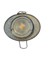 Salhiya Lighting Spotlight Frame, LED Bulb Type, Oval Fixed, R173, Chrome