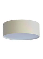 Euroluce Spotlight Frame, LED Bulb Type, Surface Mounted, 18W, LC1398, Matt White