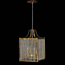 Salhiya Lighting Modern Stylish Hanging Light, E14 Bulb Type, TPLD20170708, Gold