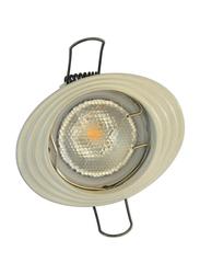 Salhiya Lighting Spotlight Frame, LED Bulb Type, Oval Fixed, R112, White