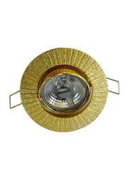 Salhiya Lighting Spotlight Frame, LED Bulb Type, Round Movable, AL3291, Gold