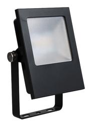 Megaman Outdoor LED Flood Light, 9.5W, FFL70300v0, Daylight, Black