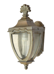 Salhiya Lighting Outdoor Wall Light, E27 Bulb Type, Medium, OW0168XH167, Silver