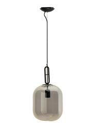 Salhiya Lighting Indoor Ceiling Hanging Pendant Light, E27 Bulb Type, MD108601245, Brown/Grey