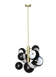 Salhiya Lighting Modern Stylish Ceiling Pendant Light, E27 Bulb, D68, D160313D68, Black