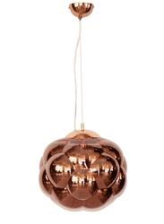 Salhiya Lighting Totchie Indoor Ceiling Pendant Light, E27 Bulb Type, Large, D3870, Rose Gold