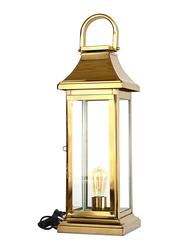 Salhiya Lighting Handmade Stainless Steel Lanterns, E27 Bulb Type, Large, 149346, Gold