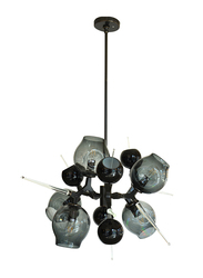 Salhiya Lighting Modern Stylish Ceiling Hanging Light, G9 Bulb Type, MD109265, Black