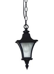 Salhiya Lighting Outdoor Hanging Ceiling Light, E27 Bulb Type, OS6301, Black