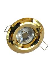 Euroluce Spotlight Frame, GU10 Bulb Type, NC1760RW, Gold