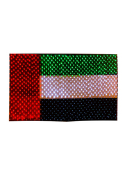 Salhiya Lighting Decorative Lighting UAE Flag LED, W9 x H4 Meters, Green/White/Black/Red