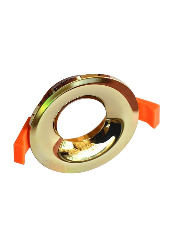 Euroluce Spotlight Frame, MR16-GU10 Bulb Type, NC1761R, Gold