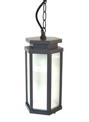 Salhiya Lighting Outdoor Hanging Ceiling Light, E27 Bulb Type, 1645A, Dark Grey
