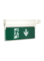 Olympia Emergency Luminar Eco Light, Maintained Exit Sign, MLD28D, Green