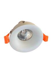 Euroluce Spotlight Frame, GU10 Bulb Type, Triple Head, MHT510, White