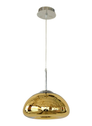 Salhiya Lighting Modern Malo Ceiling Pendant Light, E27 Bulb Type, D130324, Gold