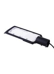 Salhiya Lighting LED Street LED Flood Lights, 30W, IP65, ST02, 6500K-Daylight, Black