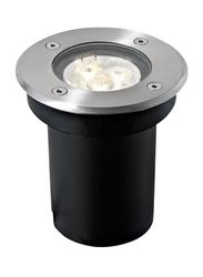 Salhiya Lighting Underground Light, LED Bulb Type, 1W, IP67, 7371, Silver