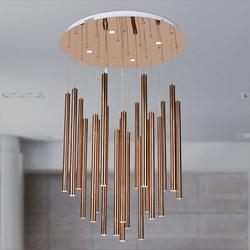 Salhiya Lighting Modern Stylish Hanging LED Light, TPLD20170108, Rose Gold