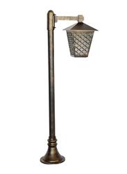 Salhiya Lighting Post Light, E27 Bulb Type, Glass Diffuser, 145121, Goldmine