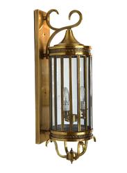 Salhiya Lighting Indoor Arabic Wall Light, E27 Bulb Type, NT0018, Brass