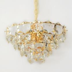 Salhiya Lighting Luxury Modern Crystal Chandelier, E14 Bulb Type, 17086/500, Gold