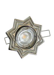 Salhiya Lighting Spotlight Frame, LED Bulb Type, Star Movable, AL3298B, Chrome