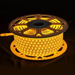 Salhiya Lighting 50 Meter High Quality LED Flexible Strip Light, 8W/Meter, IP65, OMLNE5050, 2400K-Warm White