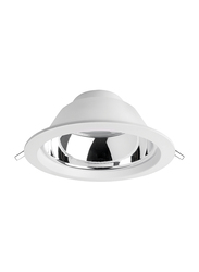 Megaman Recessed Integrated Ceiling Downlight, GX53 Bulb Type, 19W, F54300RC, 6500K-Daylight