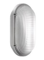 Lombardo Luce Ovale 260 Outdoor Wall/Ceiling Light, E27 Bulb Type, IP65, LB53421, White