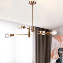 Salhiya Lighting Modern Kristie Pendant Light, Bronze