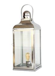 Salhiya Lighting Handmade Stainless Steel Lanterns, E27 Bulb Type, Large, 149342, Chrome