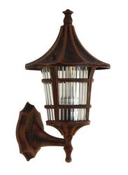 Salhiya Lighting Outdoor Wall Light, E27 Bulb Type, A2232, Dark Rose Gold