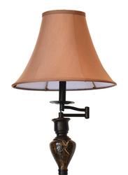 Salhiya Lighting 1 Floor Lamp with 2 Table Lamps Set, E27 Bulb Type, Brass/Ceramic Material, 8003, Black/Brown