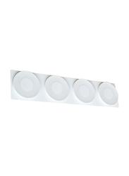 Salhiya Lighting LED Mirror/Picture Light, 30x0.1W, MB625, Cool White