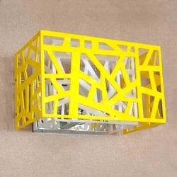 Salhiya Lighting Indoor Wall Light, G9 Bulb Type, MB1100371, White/Yellow