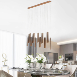 Salhiya Lighting Modern Pendant LED Light, 22W, TPLD20170108, Rose Gold