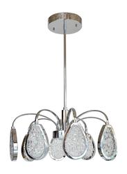 Salhiya Lighting Ceiling Modern Chandelier Downlight, LED Bulb Type, 8A, MX16032013, Chrome